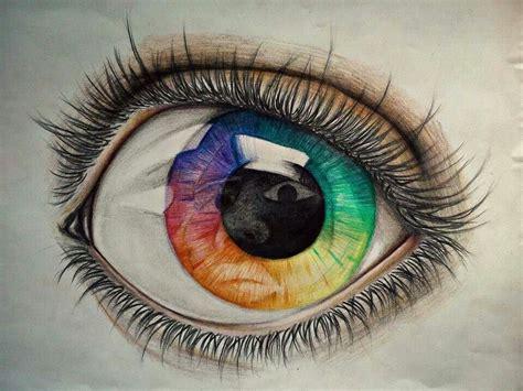 Eye Color Pencil Drawing At Getdrawings.com