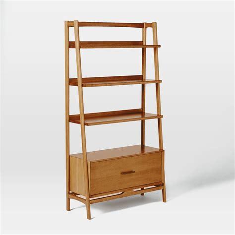 designer bookshelves modern shelving mid century 96 5 cm bookshelf acorn elm australia