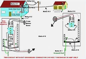 Detached Garage Wiring Diagram  U2013 Vivresaville Com