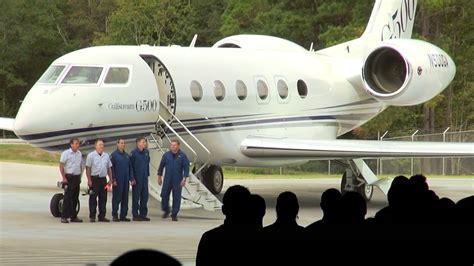 gulfstream  jet debuts  nigeria businessamlive