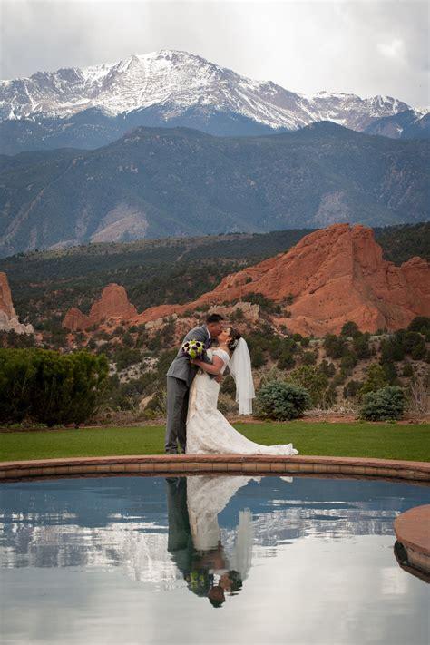 rustic mountain wedding  garden   gods club