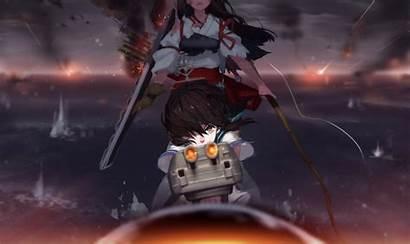 Kantai Fubuki Akagi Kancolle Fire War Seifuku