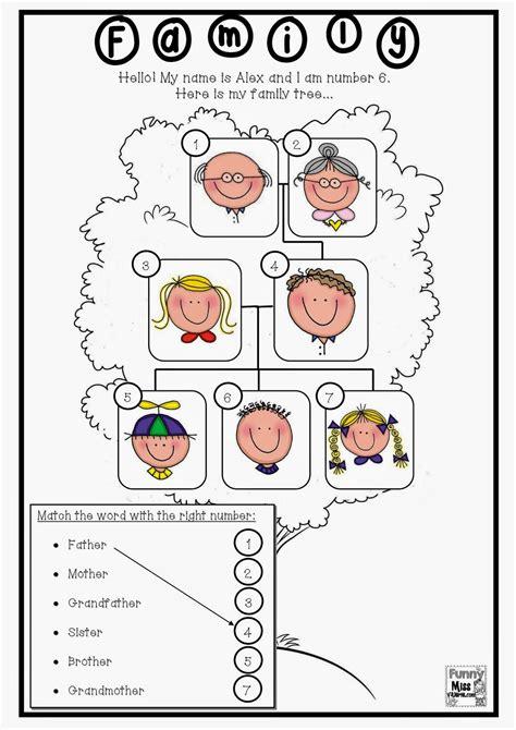 Todownloadthesameactivityworksheetsfunnymissvalriemyfamilytree Activity Worksheets