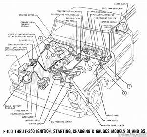 i have a 1968 ford f 100 and the ignition coil only spark With wiring diagram diagram also 1966 ford f100 wiring diagram on 1989 ford