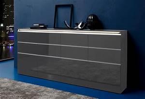 Sideboard Grau Hochglanz Simple With Sideboard Grau