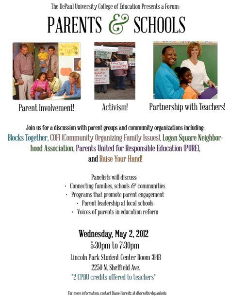 Parents United For Responsible Education » Parent Involvement