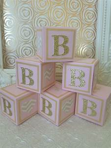 alphabet blocks baby shower decorations elephant baby With diy large letter blocks