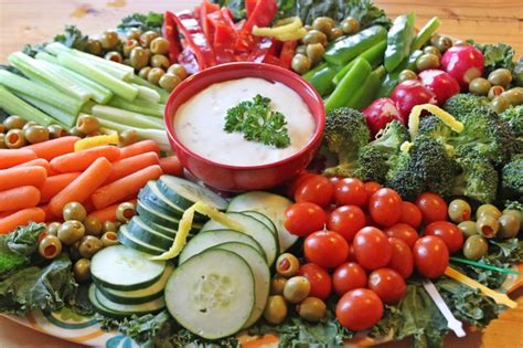 decorate  vegetable tray  pictures ehow