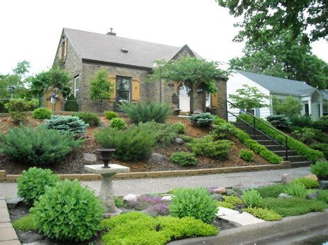 landscaping on a hill landscaping landscaping ideas for front yard on hill