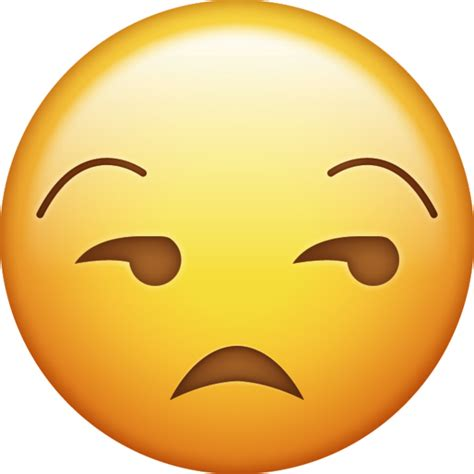 unamused emoji   ios emojis emoji island