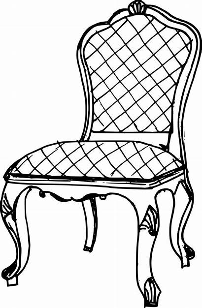Chair Drawing Antique Transparent Onlygfx Px 2030
