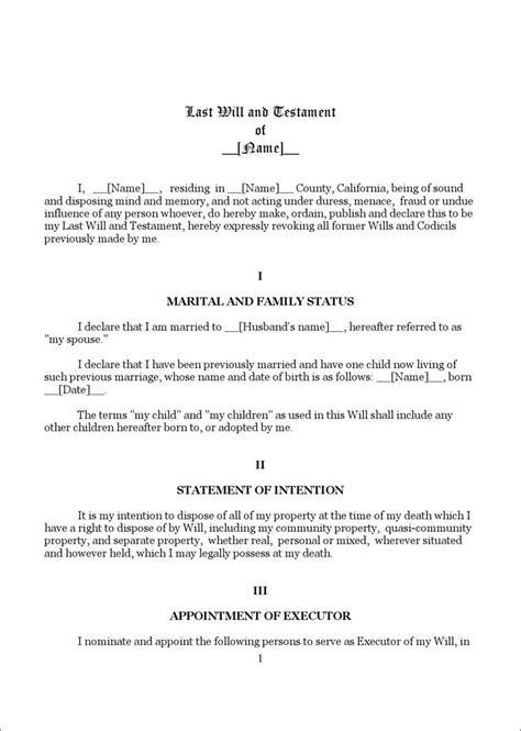 arkansas    testament template form