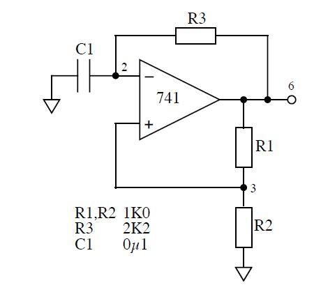 Oscillator Where The Oscilator Chip