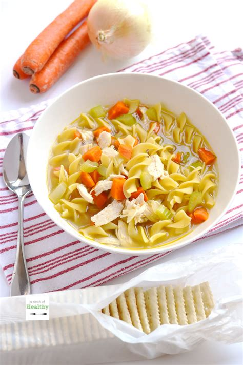 how to make chicken noodle soup from scratch chicken noodle soup from scratch a pinch of healthy