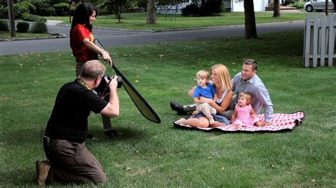 How To Shoot Family Portraits Outdoors Portrait