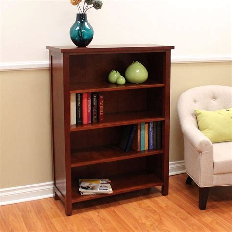 Cherry Bookcase by Donnieann Oakdale Cherry Open Bookcase 610886 The Home Depot