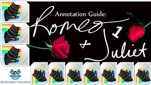 Annotation Guide  Romeo And Juliet