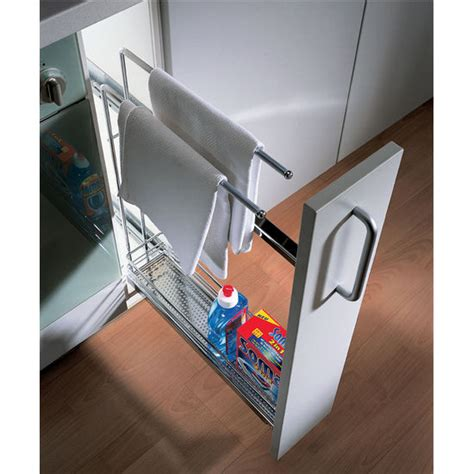 Hafele Cabinet Pull Outs by Hafele Kitchen Base Cabinet Pull Out Organizer With Towel