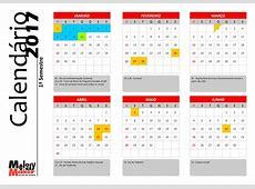Calendário anual dos cursos 2017 Melody Maker