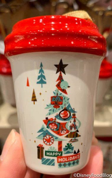starbucks  brewed    holiday cup ornaments