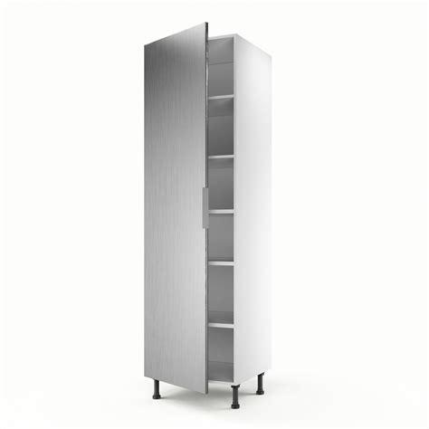 meuble colonne pour cuisine meuble de cuisine colonne décor aluminium 1 porte stil h
