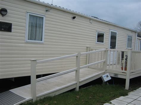 fully accessible wheelchair adapted mobile home  site  level acces hayling island