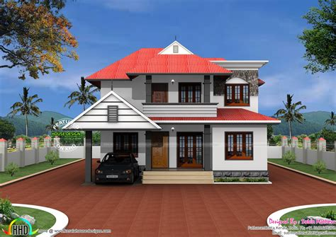 tag  keralahomedesign  sq  square feet  bedroom house kerala home design  sq
