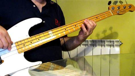 Se Me Olvidó Otra Vez (unplugged) Bass Cover