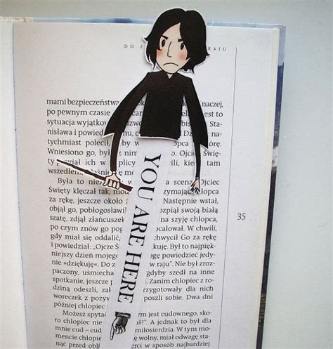 creating a beautiful harry potter snape harry potter bookmark snape harry potter snape