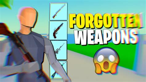 forgot  weapons   strucid roblox youtube