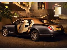 2017 Bentley Mulsanne Extended Wheelbase specifications