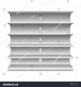 Supermarket Shelf. Vector Illustration - 325585526 ...