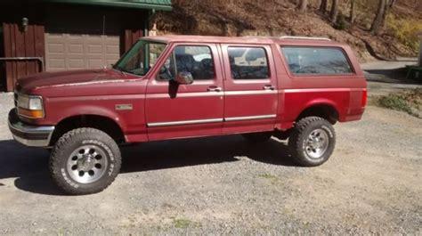 Ford Centurion Conversion Four Door Bronco One Ton