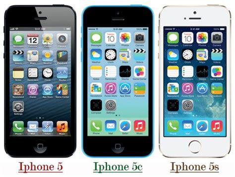 compare iphone 5c and 5s difference between iphone 5 5c and 5s it release