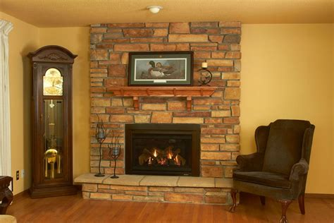update  upgrade  existing fireplace heat glo