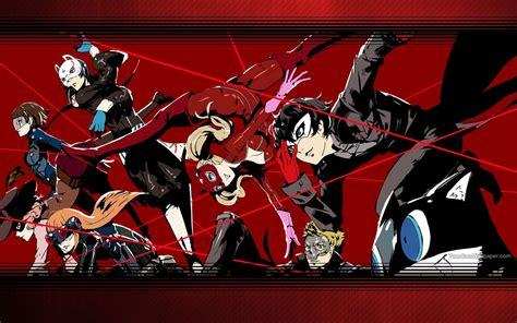 Persona 5 Animated Wallpaper - persona 5 wallpaper by catcamellia on deviantart