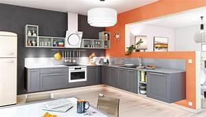 une cuisine coloree 7 idees pour apporter de la couleur With couleur mur de cuisine