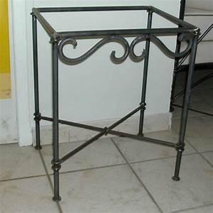 Table De Chevet Soldes : table chevet fer forge ~ Teatrodelosmanantiales.com Idées de Décoration