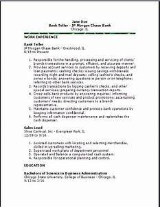 Job Offer Letter Template Free Bank Teller Resume Examples Samples Free Edit With Word