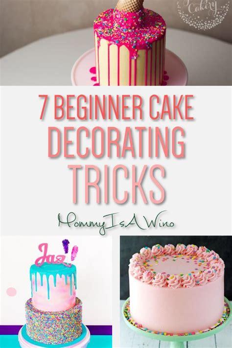 easy cake decorating trends  beginners cake