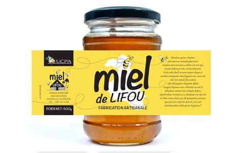 etiquette pour pot de miel sacha communication 187 etiquette miel de lifou
