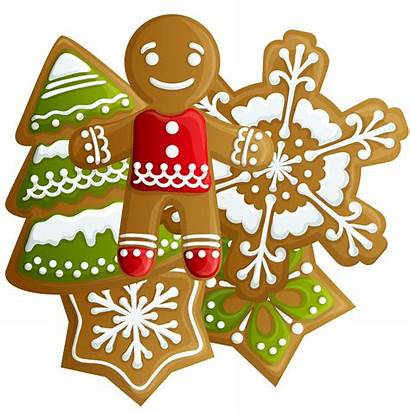 Cookies Christmas Clipart Transparent Gingerbread Clipground