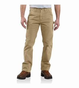 Amazon.com Carhartt Menu0026#39;s Relaxed-Fit Washed Twill Dungaree Pant Casual Pants Clothing