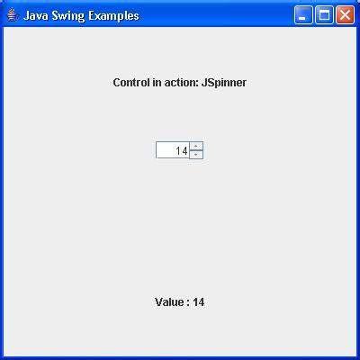 Java Swing Resume Points by Swing Jspinner Class