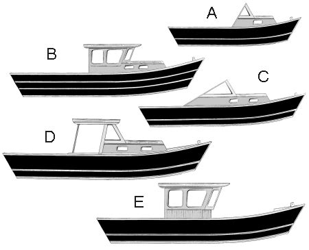 Dory Boat Drawing by Pacific Dory Boat Cabin Plans