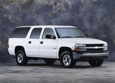 chevy suburban 2001 chevrolet suburban pictures history value research