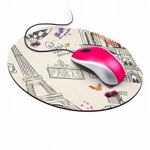 impression de tapis de souris personnalise impression de With tapis de souris rond personnalisé