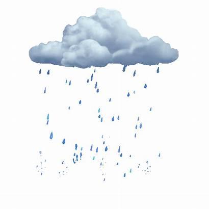 Rain Transparent Clouds Aesthetic Drops Anime Raindrops