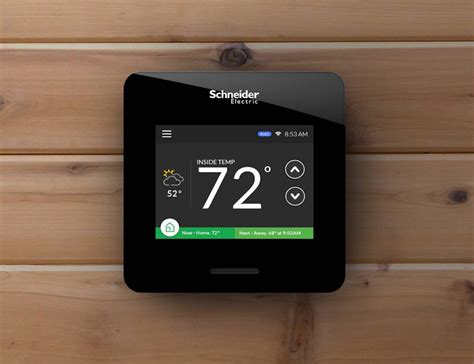 wiser air smart thermostat  schneider electric review