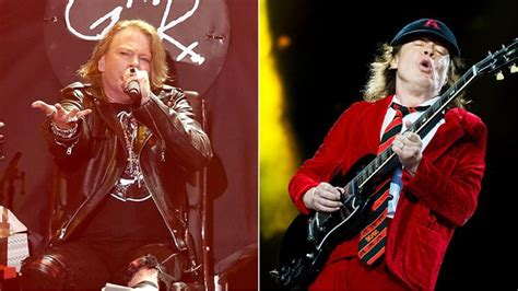 axl rose und ac dc see axl rose ac dc talk first show together rolling stone